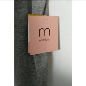 Marlow Tops - Marlow Sleeveless Gray Top